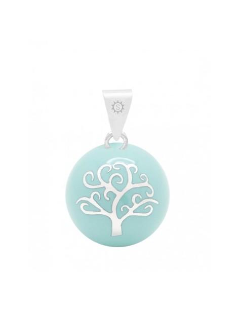 Bola Arbre de Vie couleur Jade - Bijoux fantaisie chez Loona Voiron et Grenoble